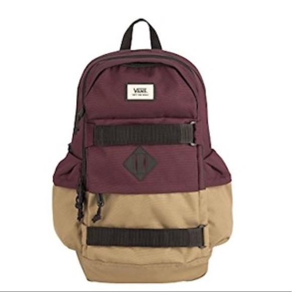 e477b19f3e9 Vans Bags | Brand New Skateboard Backpack | Poshmark